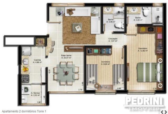 Terraços Home & Horizontal Trade. - Apto 2 Dorm, Tristeza (2563) - Foto 9