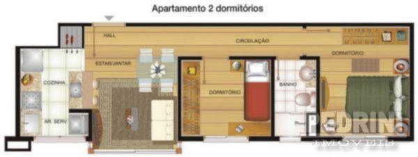Pedrini Imóveis - Apto 2 Dorm, Cavalhada (3155) - Foto 7